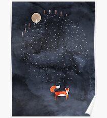 Fox Dream Poster