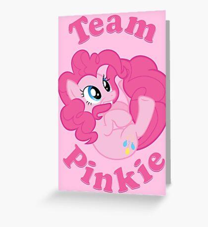 Team Pinkie Greeting Card
