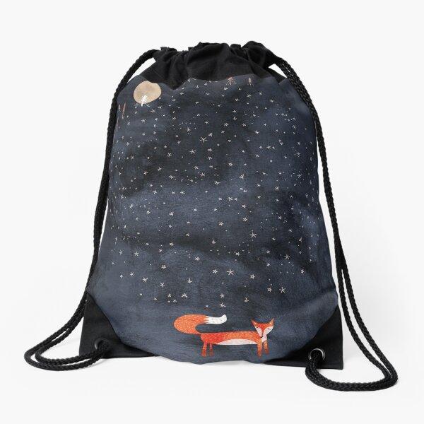 Fox Dream Drawstring Bag