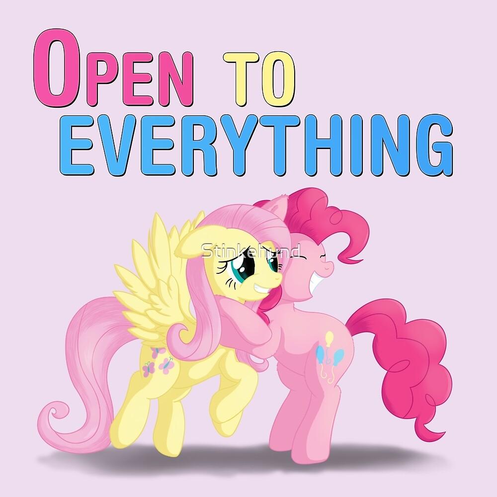 Open to everything by Stinkehund