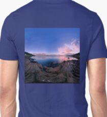 Dusk Shoreline near Moville, Donegal (Rectangular) Unisex T-Shirt