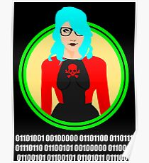 i love geeks ( binary code ) Poster