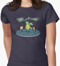 Ghosts and Busters Womens Fitted T-Shirt