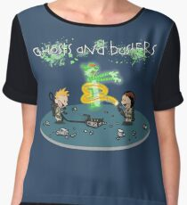 Ghosts and Busters Chiffon Top