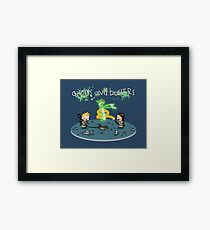Ghosts and Busters Framed Print