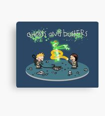 Ghosts and Busters Canvas Print