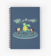 Ghosts and Busters Spiral Notebook