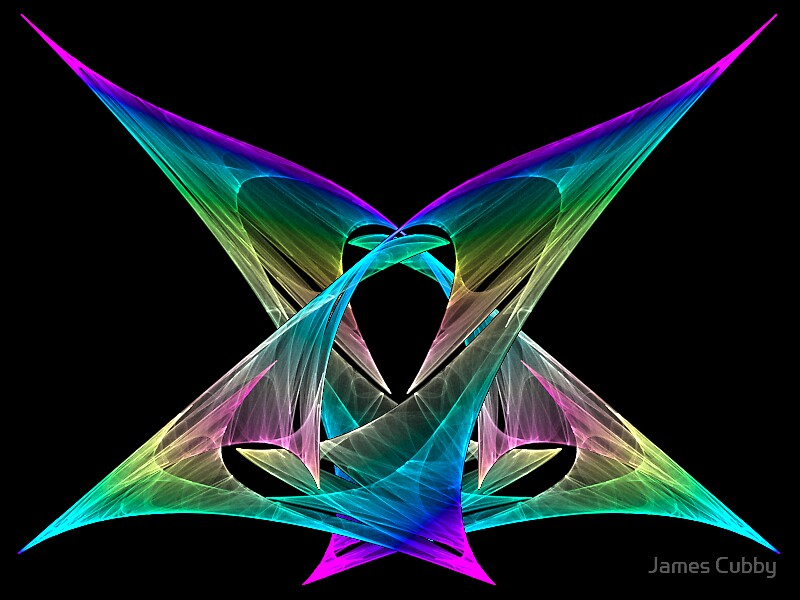 Fractal Butterfly by James Cubby