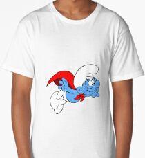 Superman Smurf Long T-Shirt