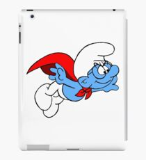 Superman Smurf iPad Case/Skin