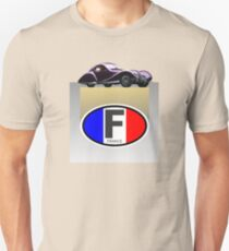 FRENCH CARS Unisex T-Shirt