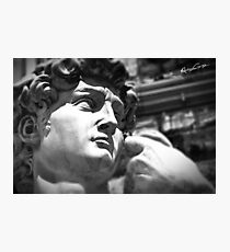 the David, Florence Tuscany Photographic Print