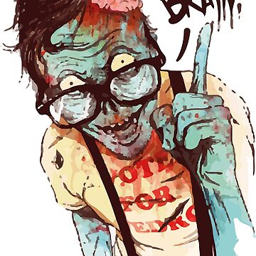 zombie t-shirt by Brunney