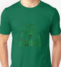 Watercolor Earth Kingdom Symbol Unisex T-Shirt
