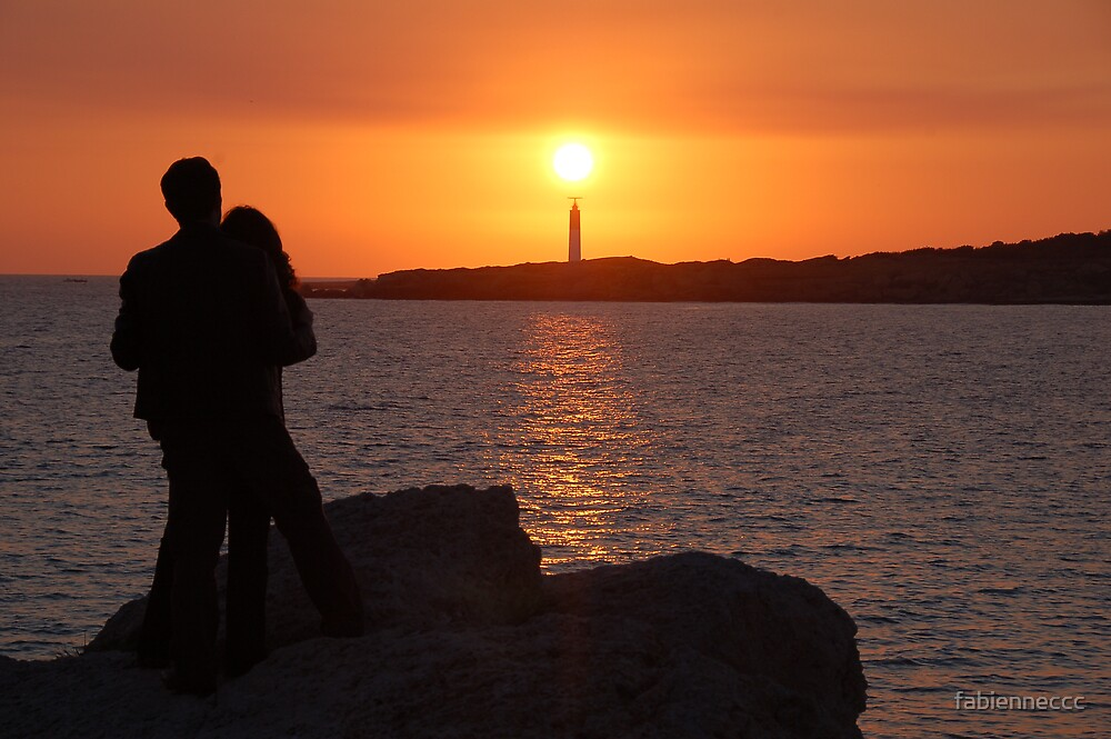 Lovers at sunset... by fabienneccc