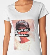 Repping ends and killing trends Women's Premium T-Shirt