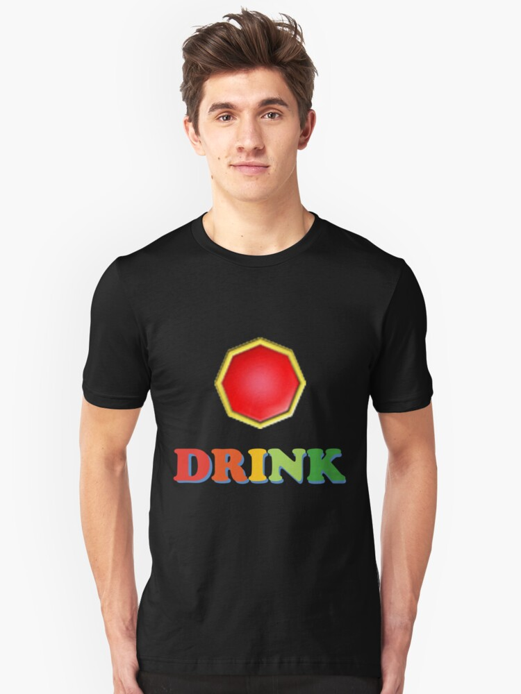 Mario Party Drink Shirt Unisex T-Shirt Front