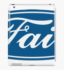 ford funny  iPad Case/Skin