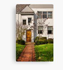 Seven Windows and a door Canvas Print