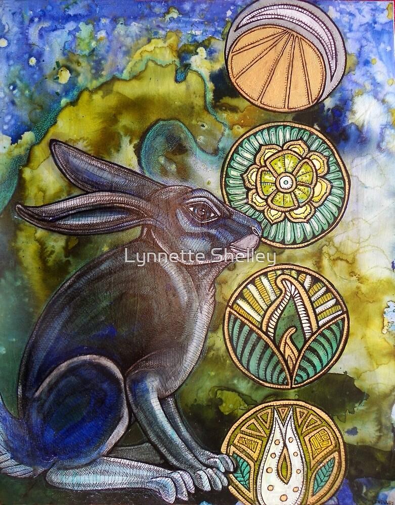 In the Moon Rabbit's Garden by Lynnette Shelley