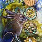 In the Moon Rabbit's Garden by Lynnette Shelley