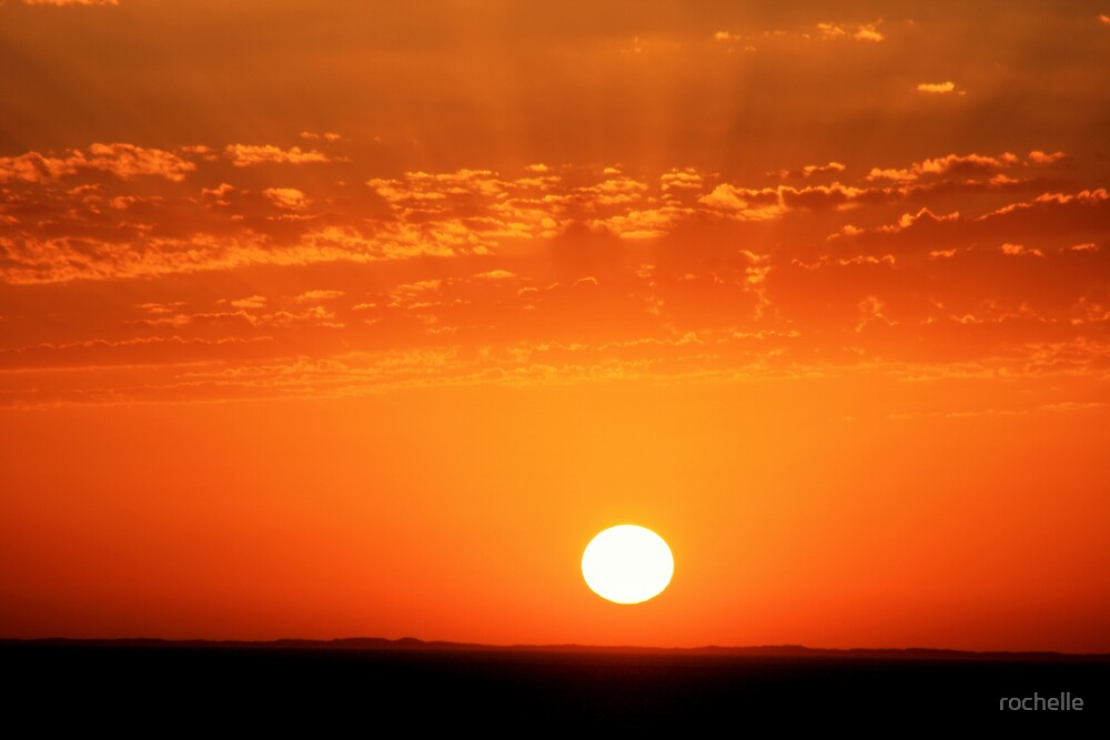 Sunset over Mornington, Victoria #1 by rochelle