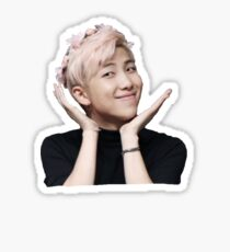 Rap Monster Flower Crown Sticker