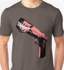 Words are Weapons (aka Shooting off your Mouth) T-Shirt