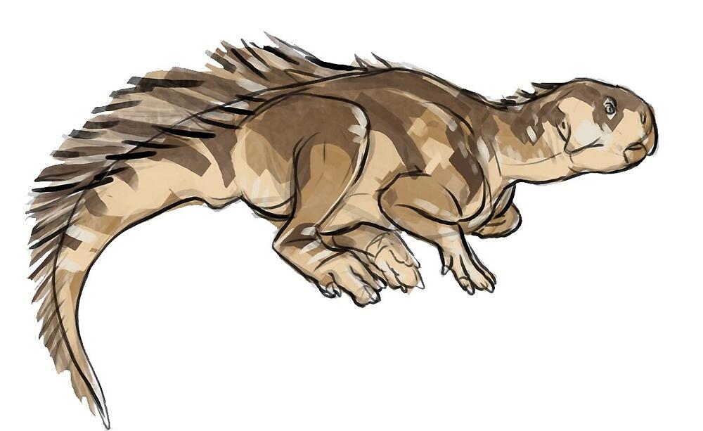 Psittacosaurus by saeto15