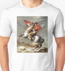 Bonaparte - The Emperor Napoleon - Jacques Louis David Unisex T-Shirt
