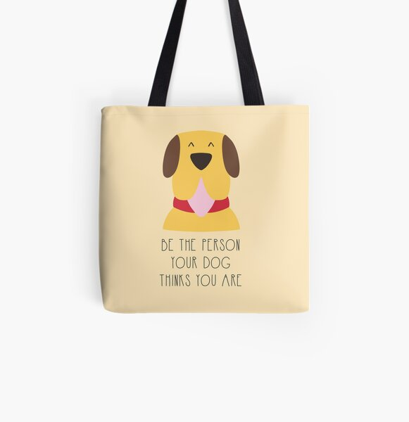 Listen your dog All Over Print Tote Bag