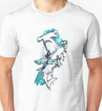 Hammerhead Shark Warrior  T-Shirt