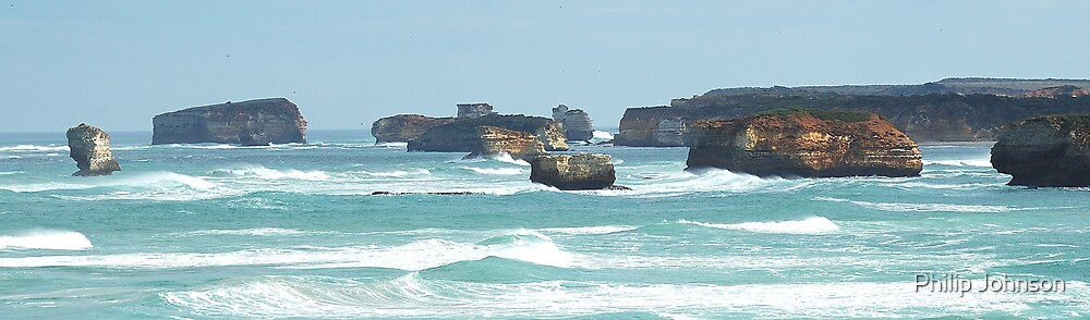 The Ship Wreck COast, Victoria Australia by Philip Johnson