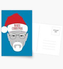 White Christmas Postcards