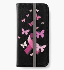 Breast Cancer Pink Awareness Ribbon iPhone Wallet/Case/Skin