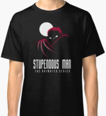 Stupendous Man The Animated Series Classic T-Shirt