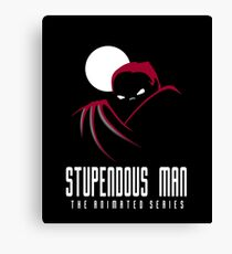 Stupendous Man The Animated Series Canvas Print