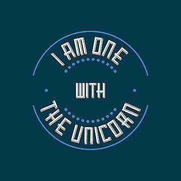 I Am One With The Unicorn by NateHarvey