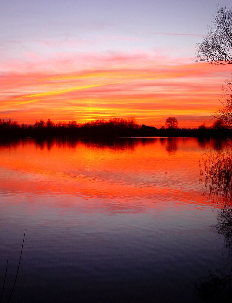 Sunset Over The Lake.. by Kate Towers IPA