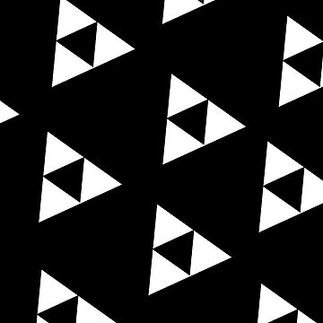 Black and White Triforce by JinxT-Threadz