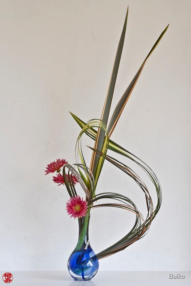 Ikebana-023 by Baiko