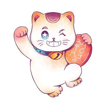 kitty go lucky! by batory