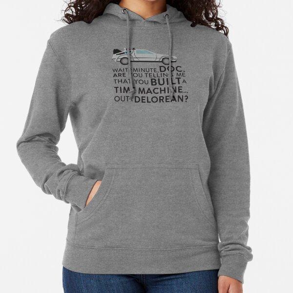 MUSH Sweatshirt Delorean Zur/ück In Die Zukunft Film by Dress Your Style