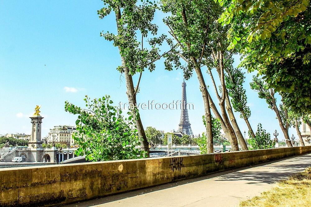 Eiffel Tower  by travelfoodfilm
