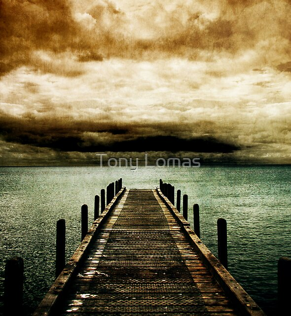 Out to sea by Tony Lomas