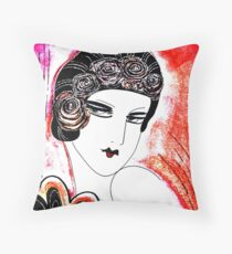 RED DECO Jacqueline Mcculloch House of Harlequin Throw Pillow