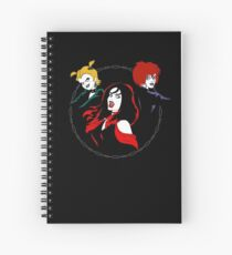 Hex Girls Spiral Notebook