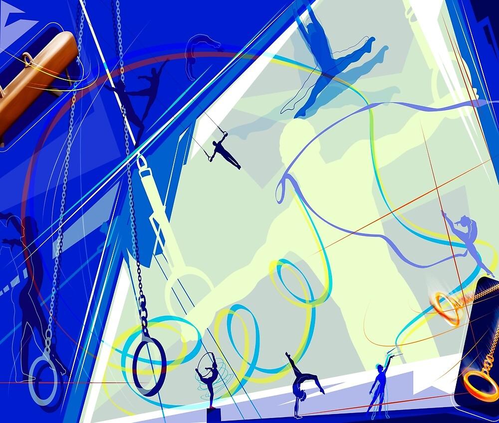 Gymnastics by rcurtiss000