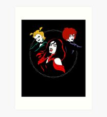 Hex Girls Art Print