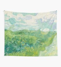 Vincent van Gogh Green Wheat Fields, Auvers 1890 Painting Wall Tapestry